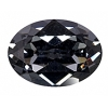 Swarovski Stones 4120 Oval 14x10mm Silver Night Crystal 12pcs